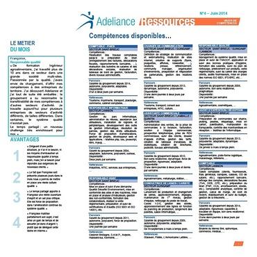 Adeliance Ressources juin 2014